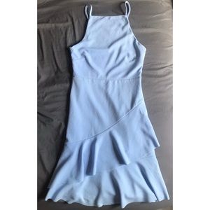 Cute Periwinkle Blue Dress